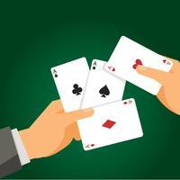 Spielkarte-Vektor-Illustration vektor
