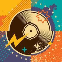 Schallplatten vektor
