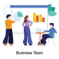 Teamwork im Geschäftskonzept vektor