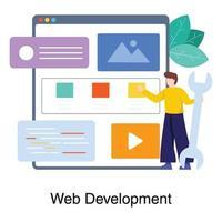 webbprogrammerare eller webbingenjörskoncept