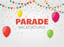 Parade Hintergrund vektor