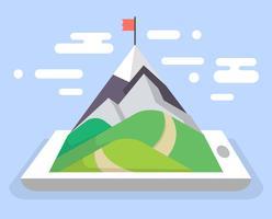 mobile Navigation vektor