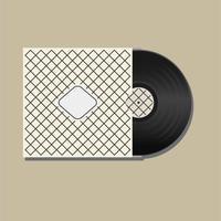 Vinyl zeichnet Illustrations-Vektor auf vektor