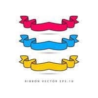 band samling etikett vektor mall design illustration