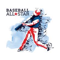 Baseball All-Star vektor