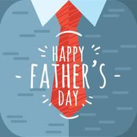 Lyckliga fäder Dat Vector