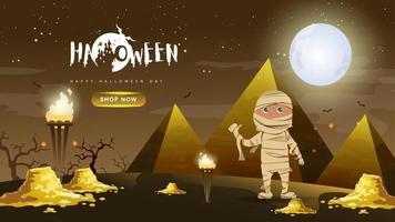 Halloween Hintergrund Design. glücklicher Halloween-Tagesvektor.