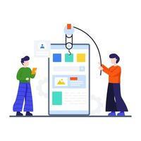 mobilapp utvecklingskoncept