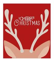 god julkort med renar