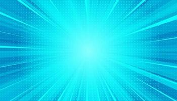 blå soliga strålar bakgrund. gnistrande magiska dammpartiklar. vektor illustration.