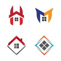 hus logotyp bilder vektor