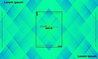 färgglada geometriska bakgrund med lutning rörelse former komposition