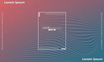 modern linje vågkurva abstrakt presentation bakgrund