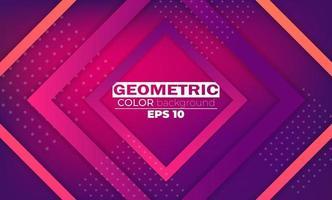 moderner abstrakter Hintergrund mit geometrischen Formen und Linien vektor