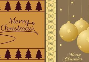 Weihnachtsbaum u. Verzierung Illustrator-Tapeten