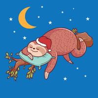 sloth illustration vektor