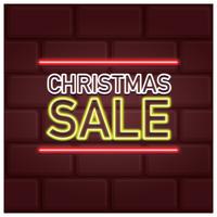 Neon Weihnachtsverkauf