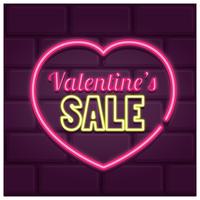 Neon Valentines Verkauf