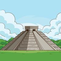 Maya Pyramiden vektor
