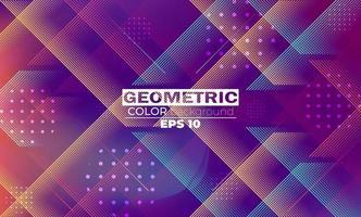 geometrisk bakgrund med lutning rörelse former komposition vektor