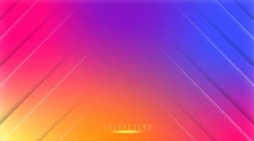 abstrakt gradient mesh bakgrund i ljusa färgglada sociala medier bakgrund vektor