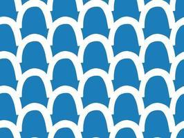 handritad, blå, vita färger sömlösa mönster vektor