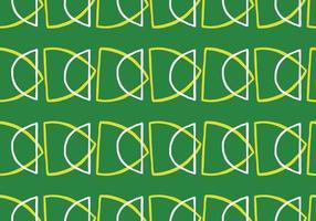 handritade, gröna, gula, vita färger sömlösa mönster vektor