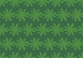 handritade, gröna färger sömlösa mönster vektor