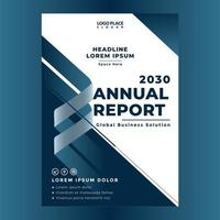 mall för företagsårsrapportomslagssida