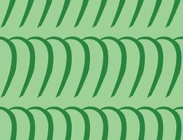 handritad, grön färg sömlösa mönster vektor
