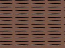 handritade, bruna, svarta linjer sömlösa mönster vektor