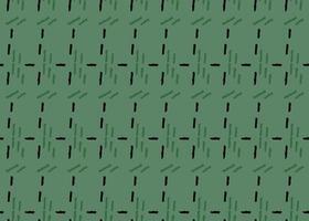 handritade, gröna, svarta färglinjer sömlösa mönster vektor