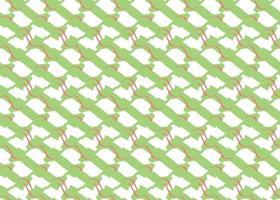 handritad, grön, röd, vit färg formar sömlösa mönster vektor