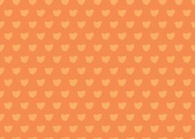 handritad, orange färg blob sömlösa mönster vektor