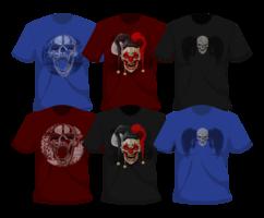 grunge t-shirt vektor