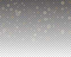 abstraktes Bokeh-Licht. leuchtende Bokeh-Lichter isoliert vektor