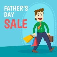 Vatertag Verkauf vektor