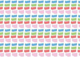 handritad, blå, röd, grön, rosa, vit färg linjer sömlösa mönster vektor