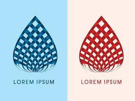 Luxus Lotus moderne Form vektor
