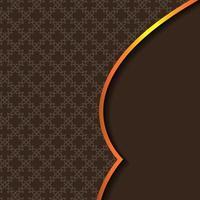 abstrakt bakgrund med traditionell prydnad. vektor illustration. islamisk bakgrundskonst
