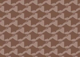 handritad, brun färg abstrakta former sömlösa mönster vektor