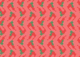 handritad, röd, grön färg sömlösa mönster vektor