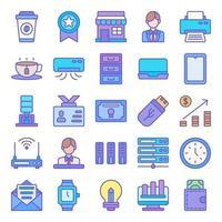 Arbeitsbereich Icon Pack vektor