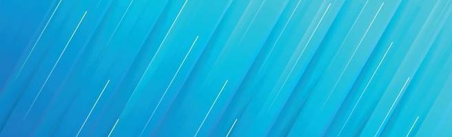 Panorama abstrakter Hintergrund mit verschiedenen Schattierungen von Blau - Vektor