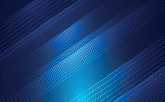 abstrakter blauer Hintergrund mit weißen Linien - Vektor