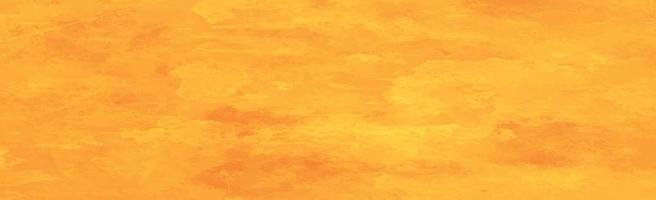 gelb-orange Panoramahintergrund mit farbigen Streifen vektor