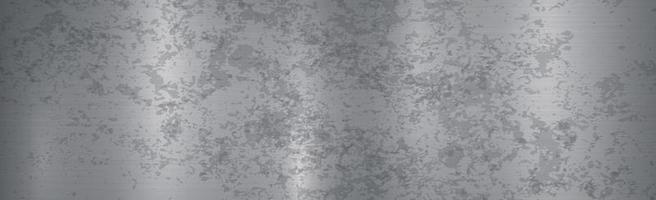 Panorama-Metallhintergrund mit Rostvektor vektor