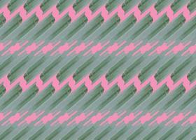 handritad, grön, rosa färg formar sömlösa mönster vektor