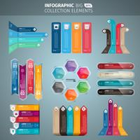 Infografik-Banner-Sammlung