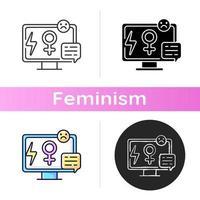 media sexism ikon